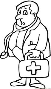 Doctor Coloring Page Pages For Preschool Archives Best Gallery Ideas