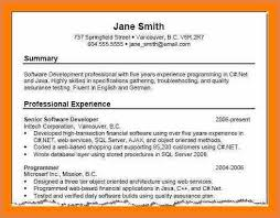 Sample Summary Statements For Resumes