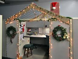 Office Cubicle Christmas Decorating Ideas by Office Christmas Decorations Pictures Cubicle Christmas