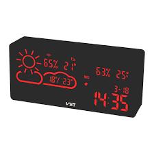 neue wifi netzwerk wecker wetter station temperatur hintergrundbeleuchtung tisch uhr wohnzimmer büro schlafzimmer schreibtisch uhr smart app