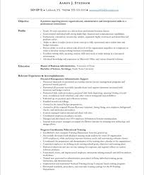 Executive Assistant Res Resume Cover Letter Example Examples