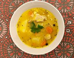 Jamaican Pumpkin Soup Vegan by Jamaican Chicken Soup With Dumplings Gourmetcentric