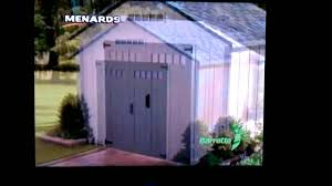 Menards Metal Storage Sheds by Menards Storage Shed Youtube
