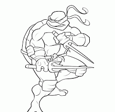 Teenage Mutant Ninja Turtles Coloring Page Free Printable Pages
