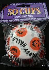 50 X CHEAP Halloween Pumpkin Cupcake Cases Fairy Cake Baking Celebrations Occasions