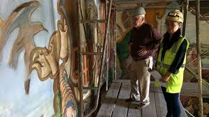 Santa Barbara Courthouse Mural Room by Courthouse Mural Room Restoration Nearly Complete Keyt