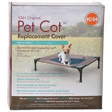 k h pet products k h pet cot cover chocolate brown orthopedic