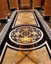 marble waterjet medallions waterjet patterns flooring tiles