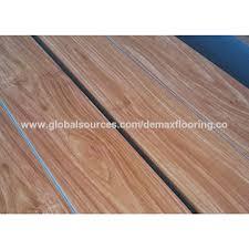 China Luxury Vinyl Tile Click Lock Plastic Floor Wood PVC Flooring Plank