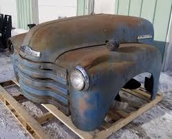 100 1947 Chevy Truck 1953 Chevrolet Front Clip Fenders Hood Grill EBay