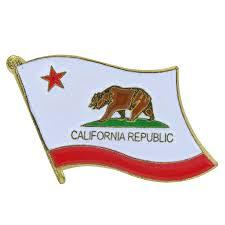 California Flag Lapel Pin