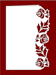 Free Border Designs For A4 Size Paper Flowers 1339821