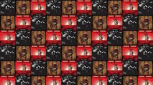 Smashing Pumpkins Zeitgeist Album Cover by The Smashing Pumpkins Tiled Desktop Wallpaper