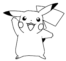 Pikachu Pokemon Coloring Pages Print Panda