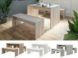 details zu tischgruppe essgruppe sitzgruppe tischset esszimmermöbel 3 teilig bellevue i