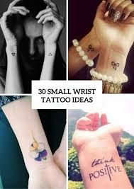 30 Cool Small Wrist Tattoo Ideas For Women