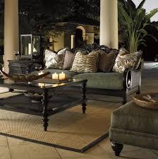 Royal Kahala Turtle Bay Exposed Wood Sofa by Tommy Bahama Home
