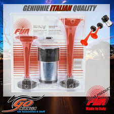 FISA 12 VOLT TWIN AIR HORNS 2 HORN SET LOUD BLAST TRUCK 4X4 HOT ROD ... 12v Loud Horn Car Van Truck 7 Sound Tone Speaker With Pa System Mic Train Air Dual Trumpet Very 12v 25l Tank Complete Kit Auto Accsories Headlight Bulbs Gifts Single Siren Snail Magic 8 Sounds Digital Electric Cheap Find Deals On Line At Alibacom Super Wcompressor 135db Universal High Quality Durable Set How To Make Louder Chevy Horns Sound Effect Youtube 5 Sounds 80w For H End 842017 115 Pm Zone Tech