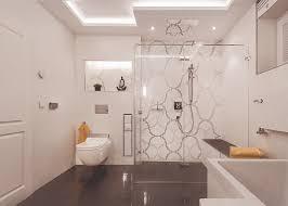 klassische eleganz badezimmer in schwarz und weiß