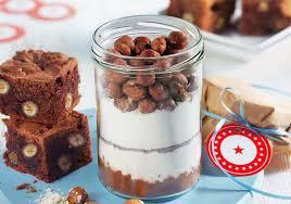 toll zum verschenken rezept für brownies im glas