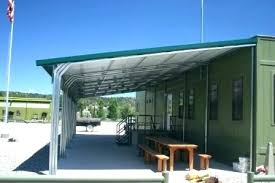Metal Roof Patio Cover Designs And Best Cedar Covers Phoenix