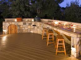 Cheap Patio Bar Ideas by Patio Bars Here U0027s A Large Outdoor Patio Bar Ma Throughout Outdoor