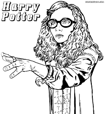 Harry Potter Coloring Pages Quidditch 1