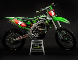 Monster Energy Kawasaki Dirt BikesDirt
