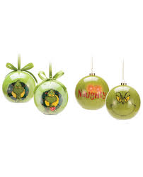 The Grinch Christmas Tree Ornaments by The Grinch Light Up Christmas Tree Ornaments Choose Your Style