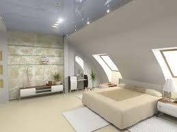 bett platzieren dachschräge im schlafzimmer