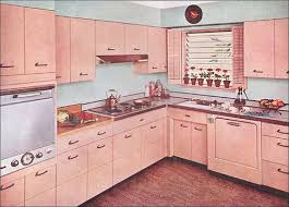 1955 Kitchen With Capitol Steel Cabinets By American Vintage Home Via Flickr