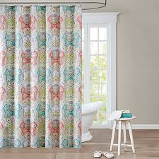 Yellow And Grey Bathroom Window Curtains by Shower Curtains Shower Curtain Tracks Bed Bath U0026 Beyond