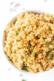 comment cuisiner le quinoa 5 ingredient garlic butter quinoa simply quinoa