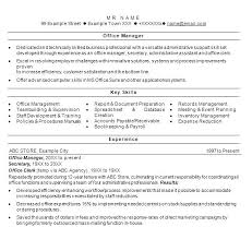 Product Manager Resume Examples Sample Office Business