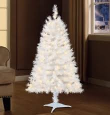 Image Is Loading Indiana Spruce 4 Ft White Artificial Pre Lit