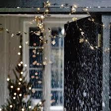 Twinkling Christmas Tree Lights Uk by Leaf Garland