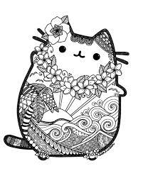 Pusheen Coloring Book Pusheen Pusheen The Cat Tramas Y Mas
