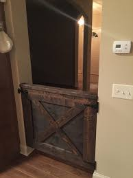 Half) Barn Door DIY - Album On Imgur Baby Gate With A Rustic Flair Weeds Barn Door Babydog Simplykierstecom Diy Pet Itructions Wooden Gates Sliding Doors Ideas Asusparapc The Sunset Lane Barn Door Baby Gate Reclaimed Woodbarn Rockin The Dots How To Make 25 Diy 1000 About Ba Stairs On Pinterest Stair Image Result For House