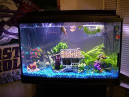 Spongebob Aquarium Decorating Kit by How To Decorate Your Boring Fish Tank Fish Tanks Fish And Aquariums