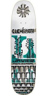 Are Cliche Skateboard Decks Good by Cliche Javier Mendizabal Grip Art Series R7 Skateboard Deck