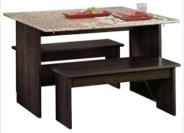 This Is A Small Dining Table With Two Benches Its Like An Indoor Picnic