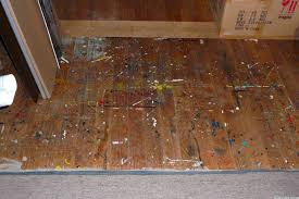 remove paint from floor with wipes huffpost