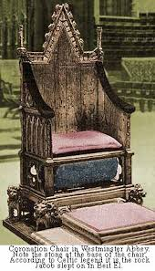 King Edwards Chair by British Throne Of David