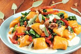 Pumpkin Gnocchi Recipe by Recipe Pumpkin Gnocchi In Sage Brown Butter Cream With Candied