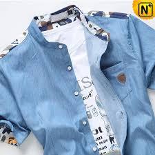 Designer Denim Shirts Mens CW114183 Cwmalls
