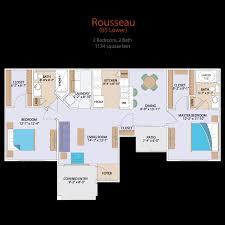 Rousseau 2 Bed Bath