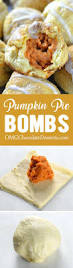 Desserts With Pumpkin Pie Filling by Pumpkin Pie Bombs Omg Chocolate Desserts