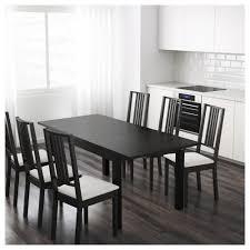 Ikea Dining Room Sets Canada by Bjursta Extendable Table Birch Veneer Ikea