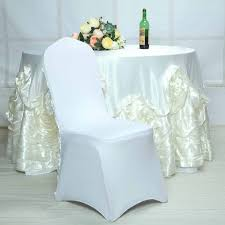 White Satin Raised Roses Spandex Stretchable Banquet Chair Cover Silver Stretch Spandex Banquet Chair Cover Balsacircle 50 Pcs White Polyester Covers For Party Wedding Linens Decorations Dning Ceremony Reception Supplies Hunter Green 57 Lifetime Folding Fuchsia Free Shipping Whosale 100pcs Universal Arm With For Plastic Outdoor Slipcovers Ivory Your Champagne Slip Premium Quality Ruched Fashion Ebay Sponsored 10pcs Scuba