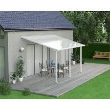 Palram Patio Cover Grey by Palram Olympia Patio Cover 3 X 4 25m White At Homebase Co Uk